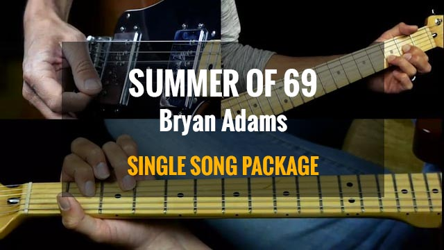 summer of 69 guitar chords